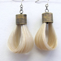 Horse Hair Earrings