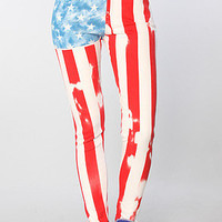 The Jordan Rock The Vote Skinny Pant in Multi (Limited Edition)