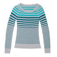 Organic Cotton Stripe Sweater | Athleta