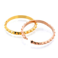Gina Cueto | Spike Bangle Bracelets (Silver, Gold and Rose Gold)