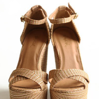 Spring Break Wedges - $42.00: ThreadSence, Women's Indie & Bohemian Clothing, Dresses, & Accessories