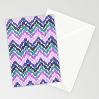 Ikat Chevron Stationery Cards by Noonday Design