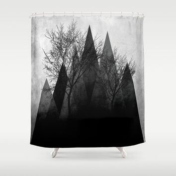TREES VI Shower Curtain by Pia Schneider [atelier COLOUR-VISION]