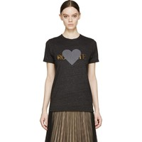Charcoal & Gold Foil Rohearte T-Shirt