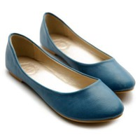 Amazon.com: Ollio Womens Ballet Flats Loafers Basic Light Comfort Low Heels Multi Colored Shoes: Shoes