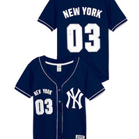 New York Yankees Game Day Jersey - PINK - Victoria's Secret