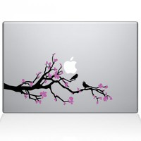 Cherry Blossom Branch Decal | Macbook Vinyl Decals | The Decal Guru