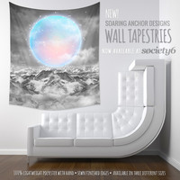 Deck the Walls! New Wall Tapestries are now available at Society6! by soaring anchor designs | Society6