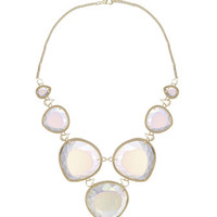 Rebecca 14k Statement Necklace