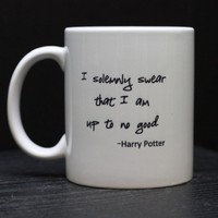 Harry Potter Coffee Mug by DailyGrinder on Etsy