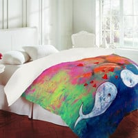 DENY Designs Home Accessories | Sophia Buddenhagen I Whale Always Love You Duvet Cover