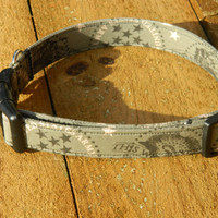 Small/ Medium US Army Badges Dog Collar