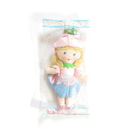 Little Blossom Rag Doll Vintage Avon Cloth Flower Fairy Girl NOS in Package