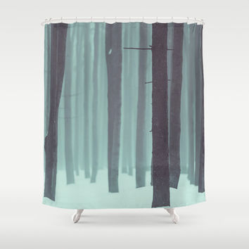 Frozen kingdom Shower Curtain by Tomas Hudolin