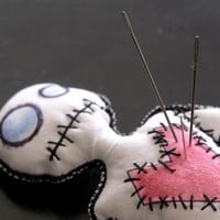 Voodoo Doll by danielskellington on Etsy