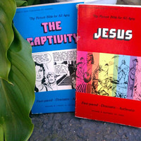 The Bible in Comic Book Form Too Cool by eastbaycalifornia