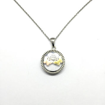 Stainless Steel Floating Locket for Best Friends