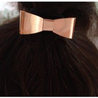 Metal Bow Hair Tie - the85stylePeople