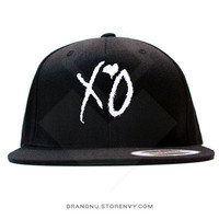 XO Snapback - Black by BrandNuThreads