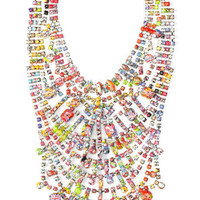 Shop Tom Binns A Riot (Of Colour) Large Bib Necklace at Moda Operandi