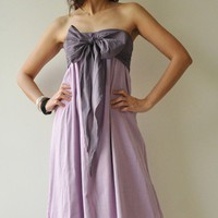 Feel So Good ...Purple Halter Maxi Cotton dress  2 Sizes Available