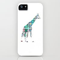 Giraffe  iPhone Case by M✿nika  Strigel	 | Society6