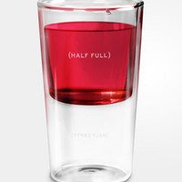 Half Full Drinking Glass