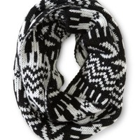 Geo Fair Isle Infinity Scarf