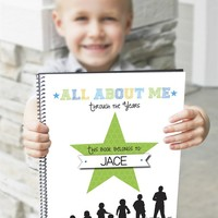 All About Me Book – Yearly Interview Questionnaire for Kids