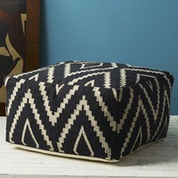Kite Kilim Floor Pouf