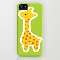 Giraffe iPhone Case by ankepankedesign | Society6