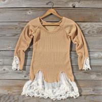 Spool Basics Thermal Top in Canyon, Sweet Bohemian Sweaters