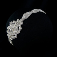 Crystal Bridal Headband by GlamHouse on Etsy