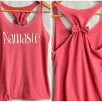 Namaste Racerback Yoga Tank- Medium