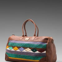 WILL Leather Goods Oaxacan Duffle Bag in Brown from REVOLVEclothing.com