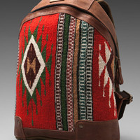 WILL Leather Goods Oaxacan Dome Backpack in Cognac from REVOLVEclothing.com