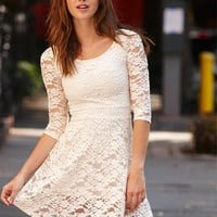Textured Lace Dress
