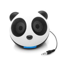 Adorable Panda Portable Plug-in Mini Speaker