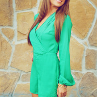 Ark & Company: Green With Envy Romper | Hope's