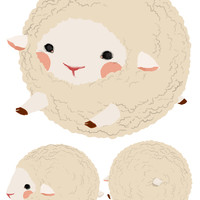 squishable.com: Squishable Sheep. An Adorable Fuzzy Plush to Snurfle and Squeeze!