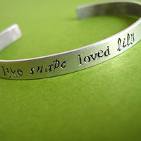 Harry Potter Bracelet I love you like Snape by spiffingjewelry