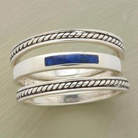 ROPED LAPIS RING TRIO        -                Fall Favorites        -                Jewelry                    | Robert Redford's Sundance Catalog