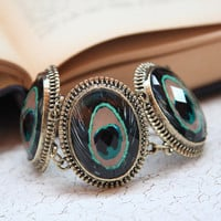 peacock treasure bracelet - $15.99 : ShopRuche.com, Vintage Inspired Clothing, Affordable Clothes, Eco friendly Fashion