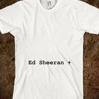 Ed Sheeran + Album T-Shirt - Ed Sheeran Clothes