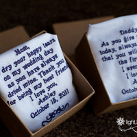 Personalized Wedding Handkerchief F.. on Luulla