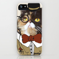 Dapper Pudge (Limited Edition Print - PudgeTheCat.com) iPhone Case by Cats Of Instagram | Society6