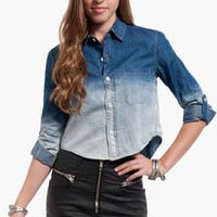 Ombre Dawn Denim Shirt $39