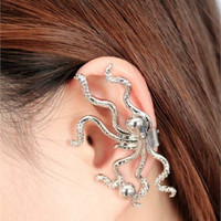 Octopus Ear Cuff ( no piercing needed)