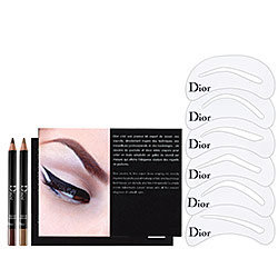 Backstage Brow Design Brow Shaping Stencils Kit