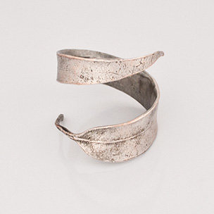 Eucalyptus Napkin Rings Silver | Rain Collection